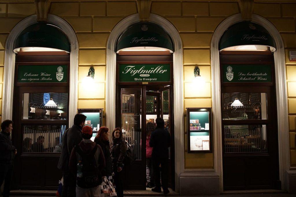 Dining in Vienna